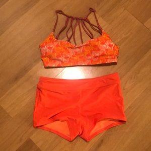 XS PRANA Boy Short Bikini